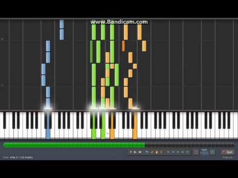 Vocaloid: Adolescence/Cendrillon/Shota Desuyon Piano Version (Synthesia)