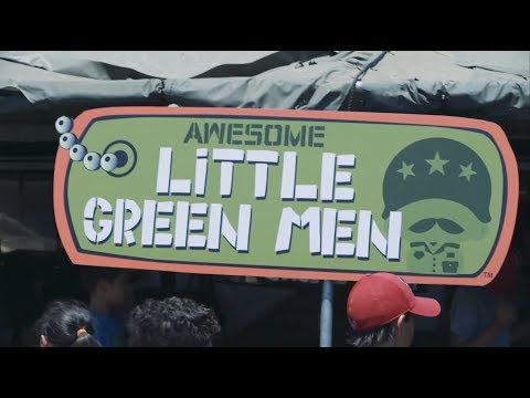 Hottest New Collectible Toy | Awesome Little Green Men