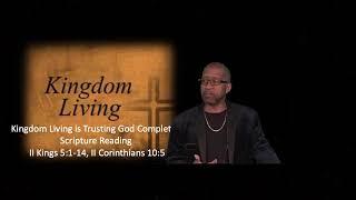 Pastor Andre Singleton, Trusting God