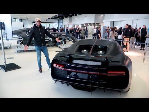 VISITE VIP de l'usine Bugatti à Molsheim ! UN RÊVE !
