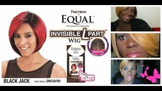 Wig Review/Styling : Freetress Equal