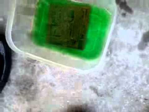 Làm mạch in, ăn mòn bằng hỗn hợp HCL+H2O2 vn