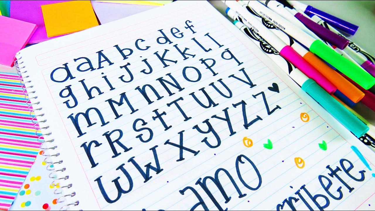 Decora con letras bonitas tutorial mariana youtube - Literas bonitas ...
