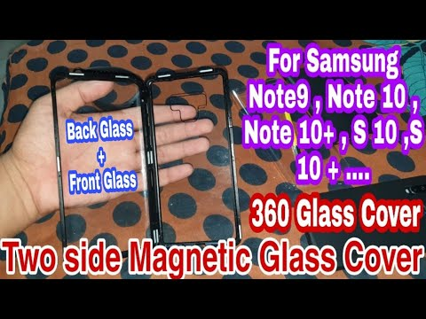 double-sided-glass-metal-magnetic-adsorption-case-360-full-protection-for-samsung-galaxy-note-9