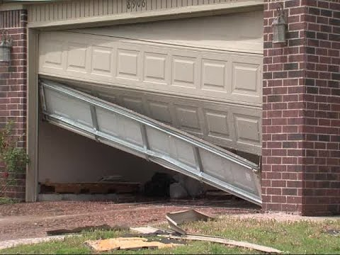 Storm damage in Broken Arrow