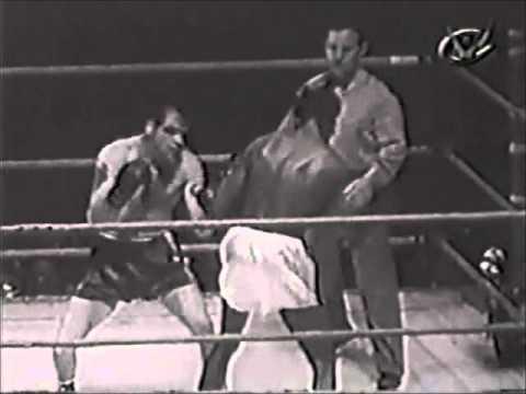 Ray Robinson vs Bobo Olson II.