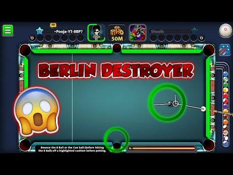 BERLIN DESTROYER  - Pooja 8 Ball Pool
