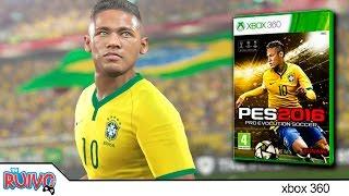 Pro Evolution Soccer 2016 (PES 2016 DEMO) - Brasil x França no Xbox 360