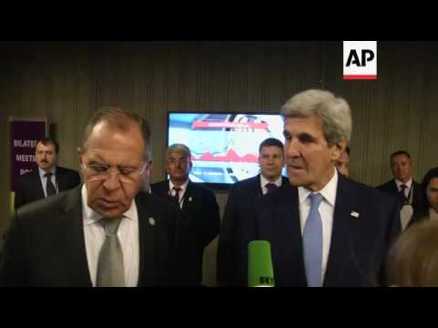 Lavrov: airstrikes in Syria only target IS
