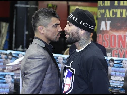 VICTOR ORTIZ VS. LUIS COLLAZO FINAL PRESS CONFERENCE + Undercard