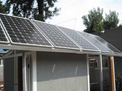 Off grid shed solar input at 11 in the morning 001