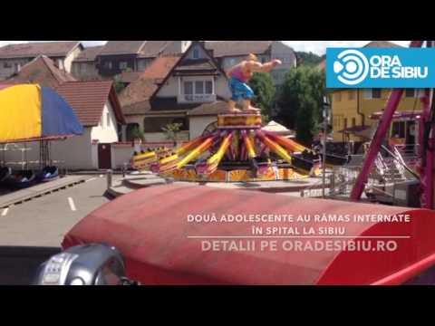 Accident carusel Medias   Festivalul Berii