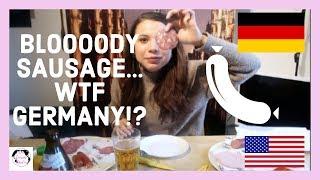 AMERICAN tries GERMAN WURST