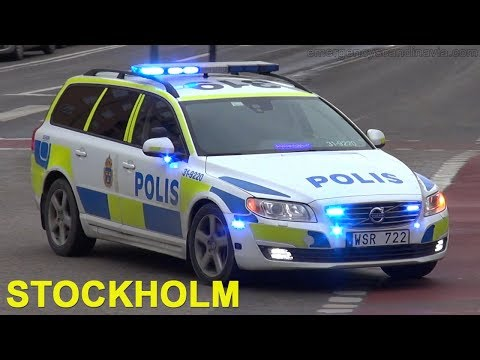 Police + ambulance Stockholm (collection) [SE | 2016]