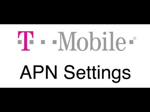 Easy Way  Setup T-Mobile's APN Setting For Any Android Phone