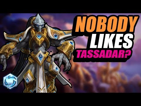 Tassadar - the unloved protoss // Road to Grandmaster // Heroes of the Storm