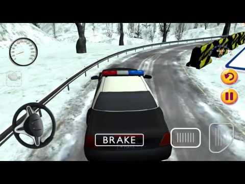 Polis Arabası Oyunu, Karlı Yolda Polis Arabası Sür - 20