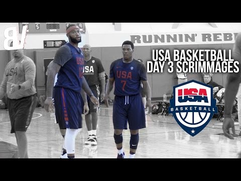 Team USA VS USA Select Scrimmage DAY 3 | USA Basketball Las Vegas Training Camp