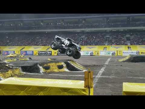 Monster Jam Freestyle San Antonio 2018 (Saturday)