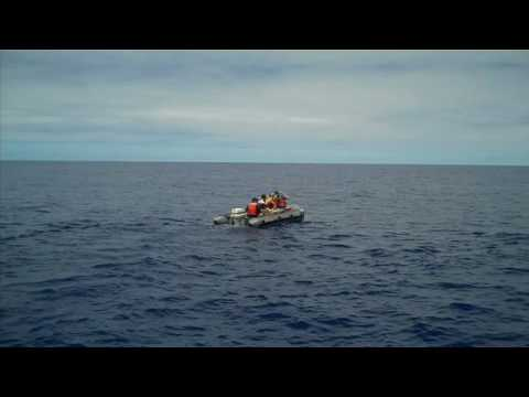 Footage from SEAPLEX Voyage to the Great Pacific Garbage Patch