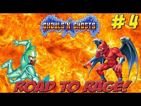 Road to Rage! Max & Matt vs Ghouls & Ghosts! Part 4 - YoVideogames