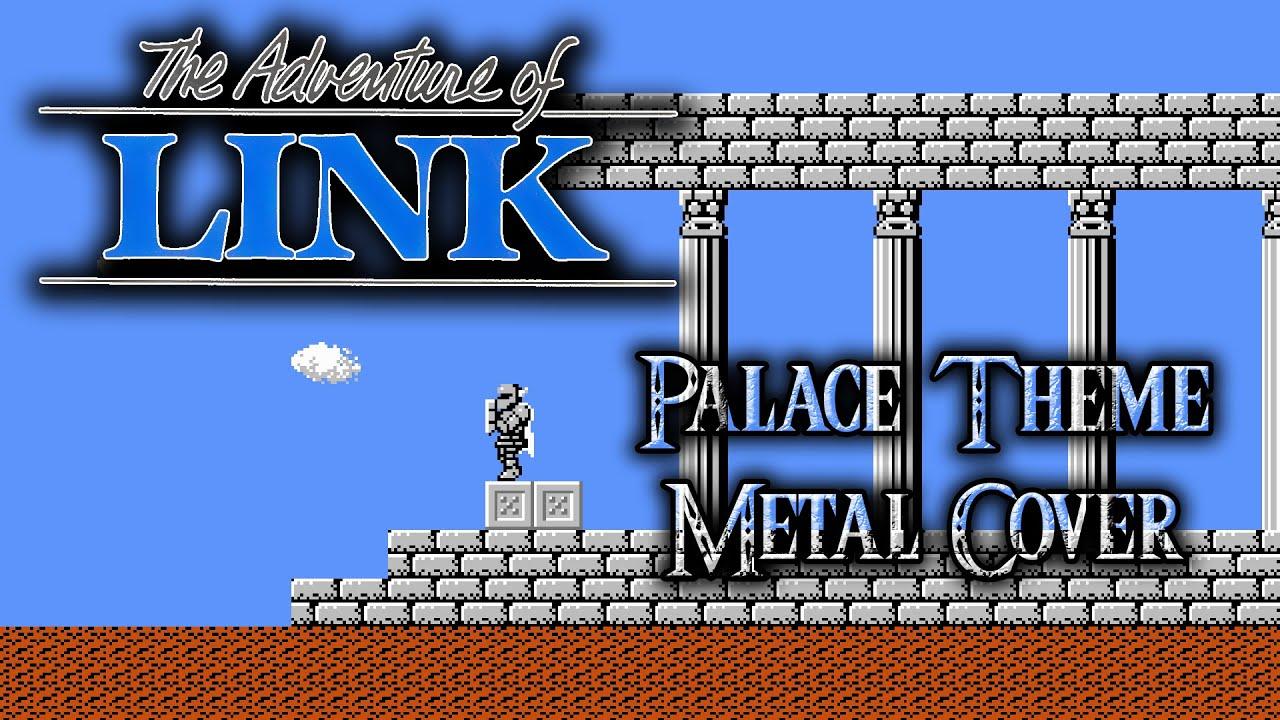 zelda ii palace theme metal cover youtube
