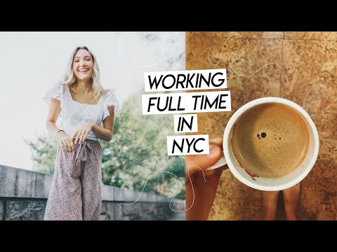 WORK WEEK IN MY LIFE NYC | Working In Social Media Marketing In NYC