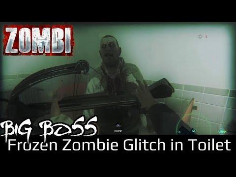 ZOMBI PS4 Glitch | Frozen Zombie in Toilet thumbnail