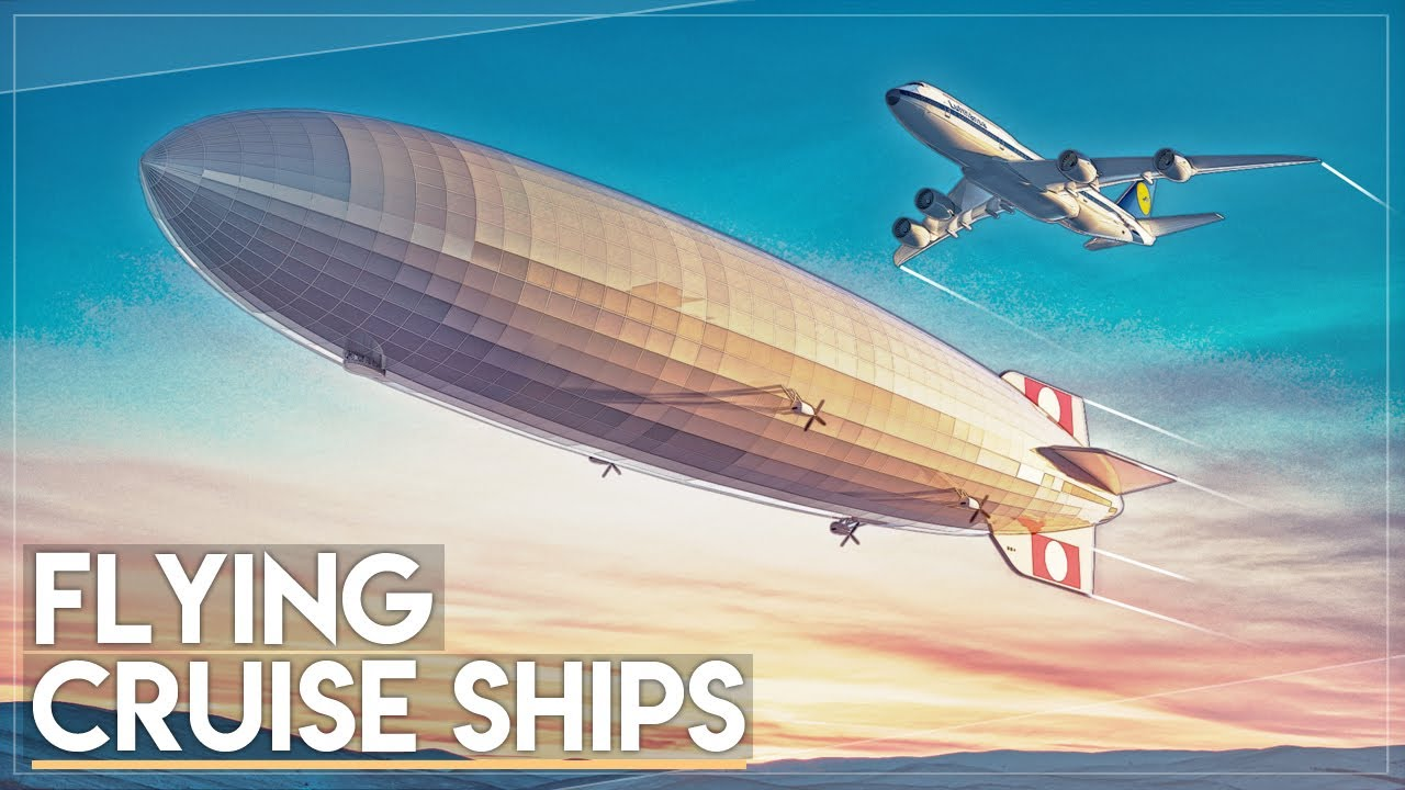 Flying Cruise Ships What Happened To Giant Airships YouTube - Flying cruise ship
