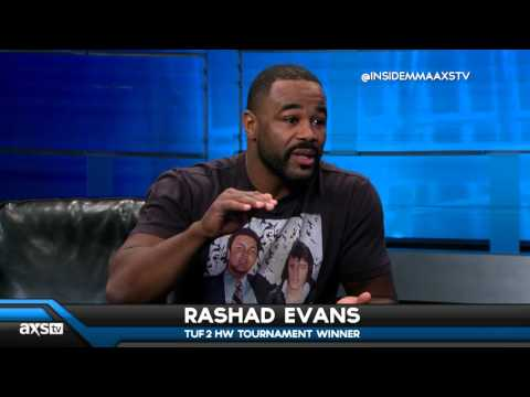 Rashad Evans NOT Retiring But Could Move to Middleweight