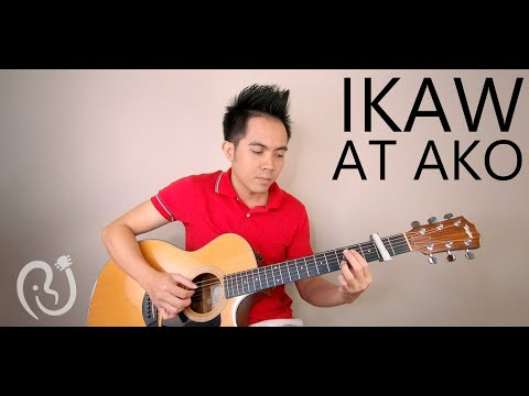 Ikaw at Ako - Moira & Jason (heartwarming fingerstyle guitar cover)
