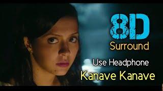 Kanave Kanave 8D | David | Vikram | Isha Sharvani | Anirudh ravichandhar | 8D BeatZ