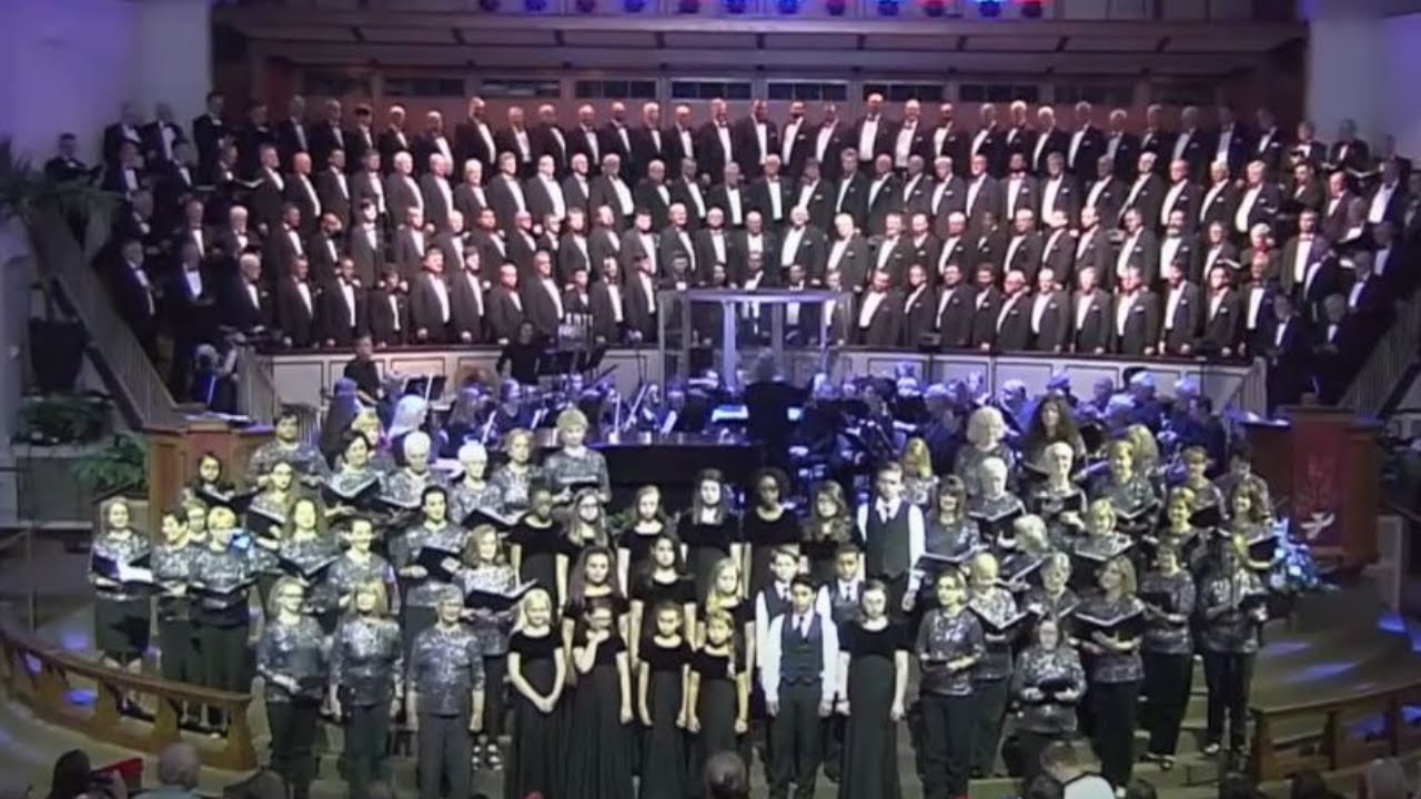 Battle Hymn of the Republic from Vocal Majority and White's Chapel Choir