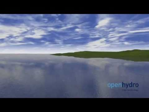 OpenHydro tidal technology animation - YouTube