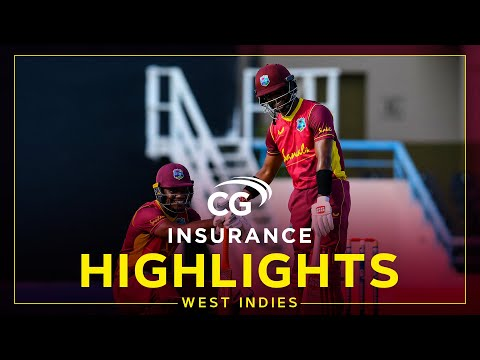 Highlights | West Indies vs Sri Lanka | Tense Finish to End the Series! | 2nd CG Insurance ODI 2021