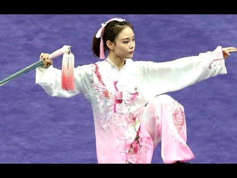 WUSHU Sword Style Dance MARTIAL ARTS Kung Fu Indonesia [HD]