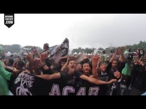 REVENGE THE FATE - DARAH SERIGALA + SAD BUT TRUE (Live at HELLPRINT 2016)