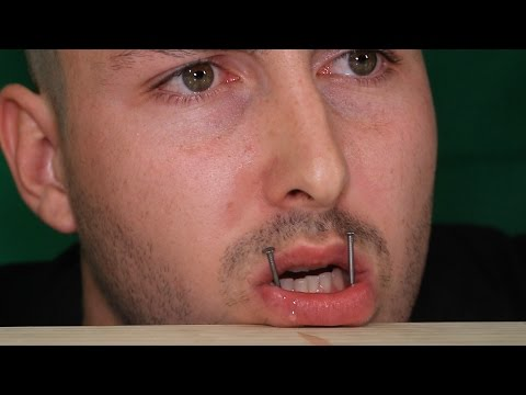 DIY Snake Bite Piercings (ft. Maxmoefoe)