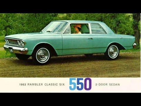 1963 Rambler American Motors TV AD