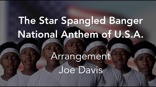 The American National Anthem - The Star-Spangled Banner (Vocal Arrangement)