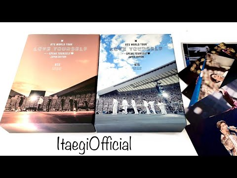 UNBOXING ~ BTS WORLD TOUR LOVE YOURSELF SPEAK YOURSELF JAPAN DVD & BLU-RAY Limited Edition