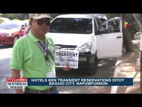 NEWS BREAK: Hotels Ken Transient reservations ditoy Baguio City, napumpunnon