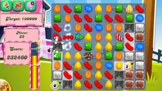Candy Crush Saga Level 235 No Boosters