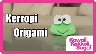 How To Fold Keroppi Origami