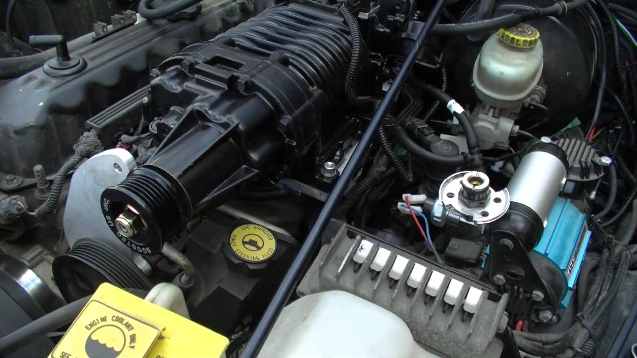 DIY Jeep M62 Supercharger install Part 2