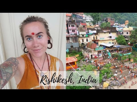 RAINY RISHIKESH DAYS // INDIA VLOG