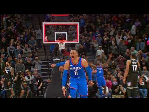 Tissot Buzzer Beater: Russell Westbrook Wins It For The Thunder At The Buzzer!!! | February 22, 2018