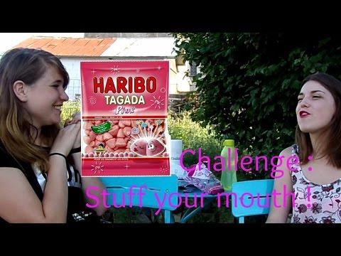 Challenge n°2 - Stuff your mouth | Blinde ta bouche avec Nanou ! 💕