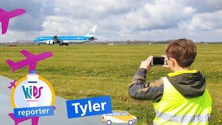 Kidsreporter #1 Tyler en de Polderbaan