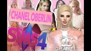 The Sims 4: CAS -Шанель Оберлин/Chanel Oberlin/Scream Queens/